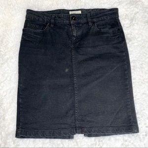 Red Denim Rules Black Jean Skirt 8